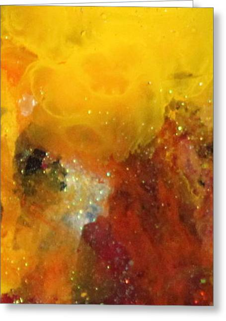 Stellar Paintings Greeting Cards - Samantha Grace Greeting Card by Kathleen Fowler