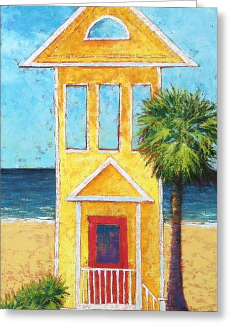 St. George Island Greeting Cards - Sgi Greeting Card by Pam Talley