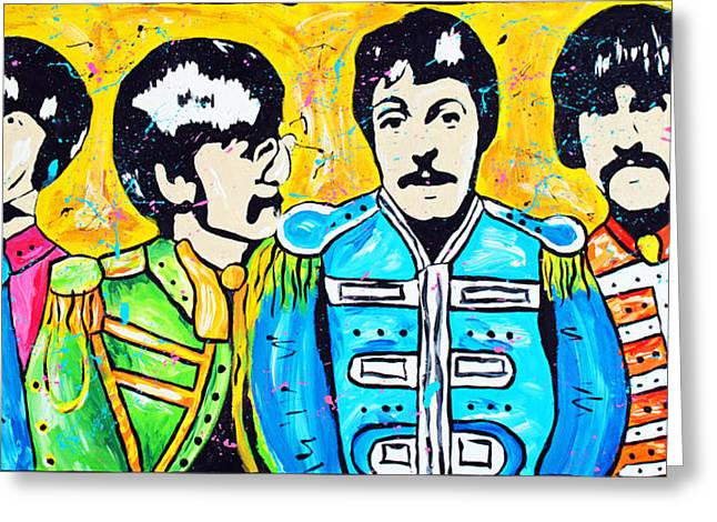 Tara Richelle Art Greeting Cards - Sgt. Peppers Lonely Hearts Club Greeting Card by Tara Richelle