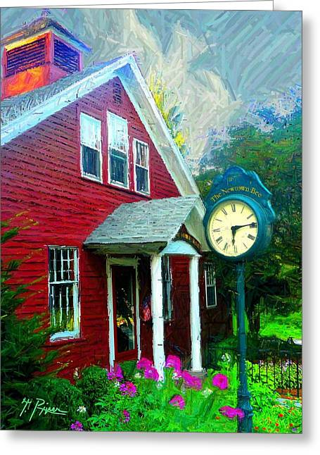 Townscape Digital Greeting Cards - Sh - 955 Greeting Card by Glen River
