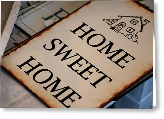 Home Sweet Home Greeting Cards - Shabby chic 3 Greeting Card by Maurizio Incurvati
