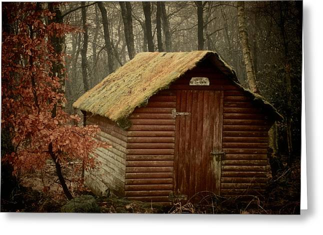 Outbuilding Greeting Cards - Shack Greeting Card by Odd Jeppesen