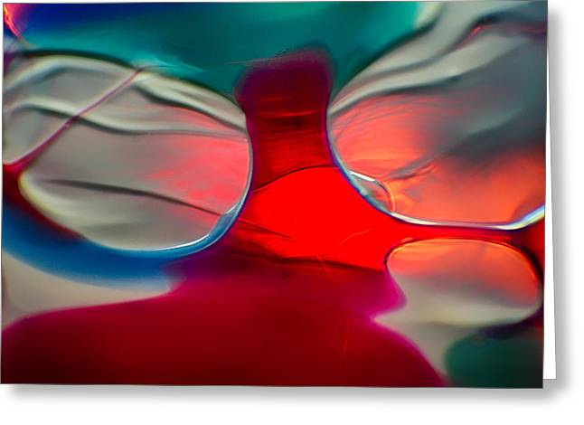 Art Blown Glass Photographs Photographs Photographs Greeting Cards - Shades of Butterfly Greeting Card by Omaste Witkowski