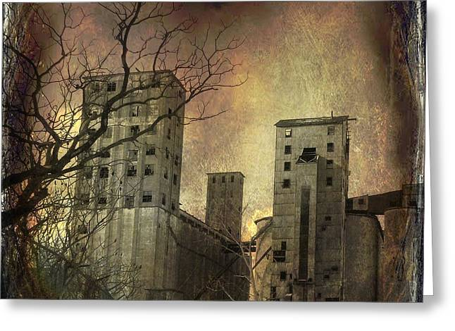 Run Down Digital Art Greeting Cards - Shades Of Time Greeting Card by Gothicolors Donna Snyder