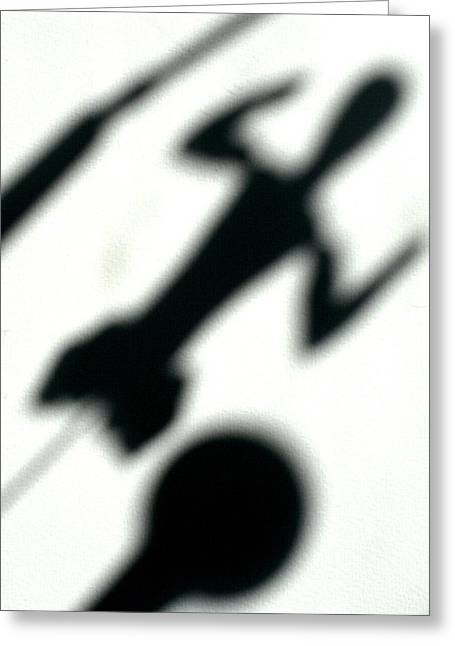 Trouve Greeting Cards - Shadow art Greeting Card by Godfrey McDonnell