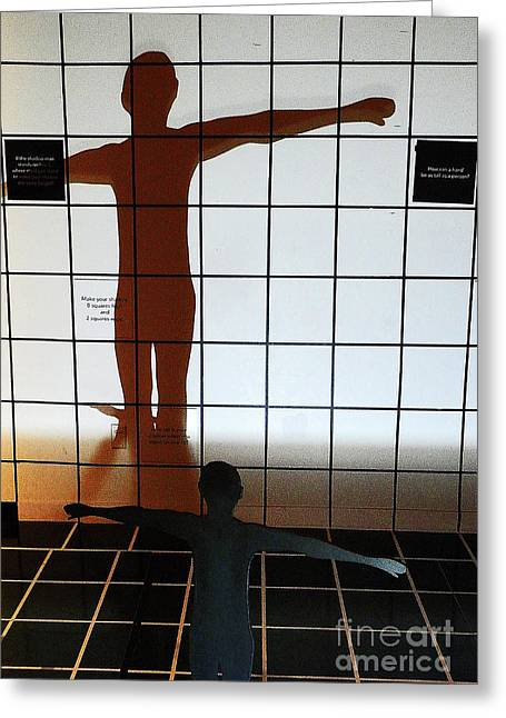 Sillouette Greeting Cards - Shadow Dancer II Greeting Card by Elizabeth Hoskinson
