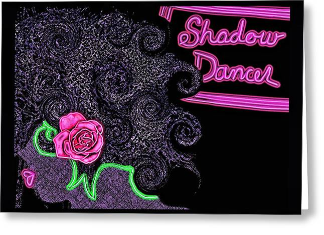 Individual Experiences Greeting Cards - Shadow Dancer Greeting Card by Tisha McGee