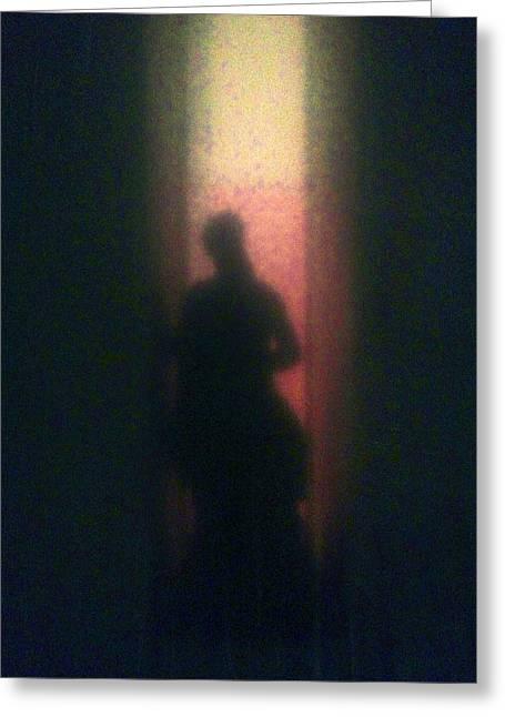 Shadow Greeting Card by H James Hoff
