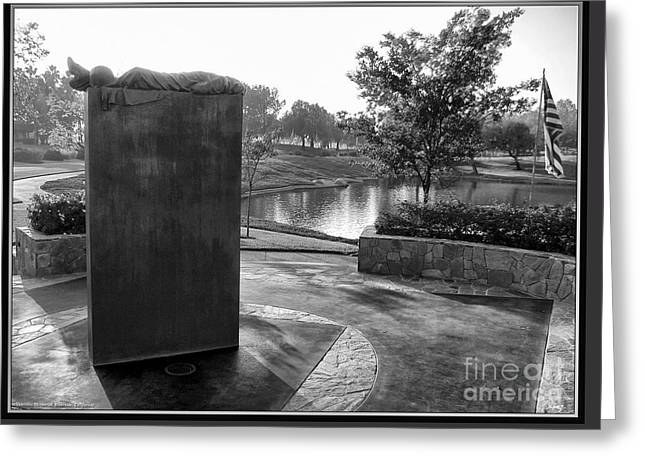 Patrotic Greeting Cards - Shadow Of Heroes Greeting Card by Glenn McCarthy Art and Photography