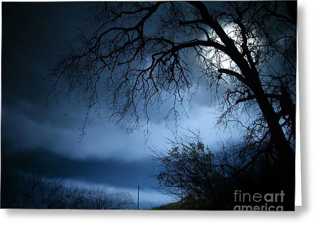 Photo Effects Greeting Cards - Shadowlands 3 Greeting Card by Bedros Awak