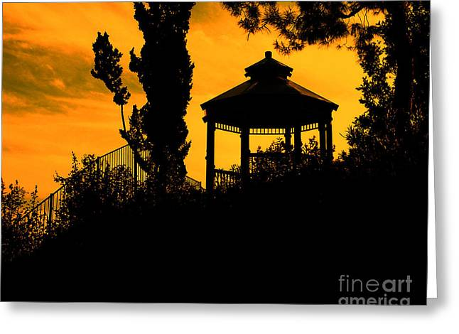 Photo Effects Greeting Cards - Shadowlands 6 Greeting Card by Bedros Awak