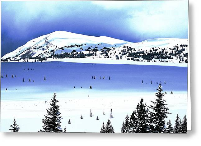 Summit County Colorado Greeting Cards - Shadows and Light Greeting Card by Eric Glaser