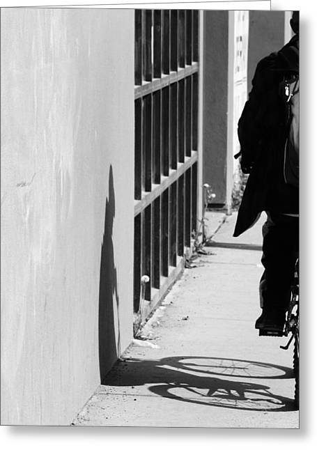 Grate Greeting Cards - Shadows that Lurk Greeting Card by Jerry Cordeiro