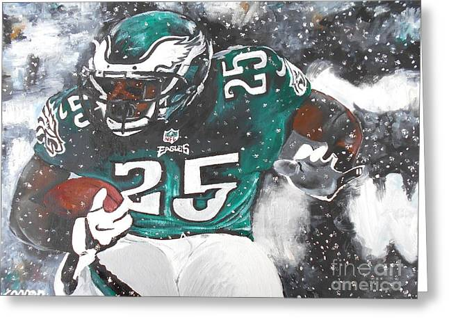Mccoy Paintings Greeting Cards - Shady McCoy Greeting Card by Kevin J Cooper Artwork