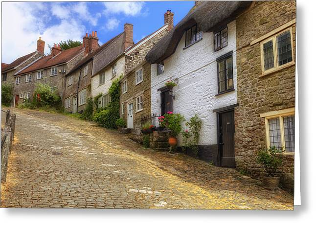 Dorset Greeting Cards - Shaftesbury - England Greeting Card by Joana Kruse