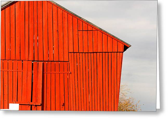 Outbuildings Greeting Cards - Shaker Barn Greeting Card by Art Block Collections