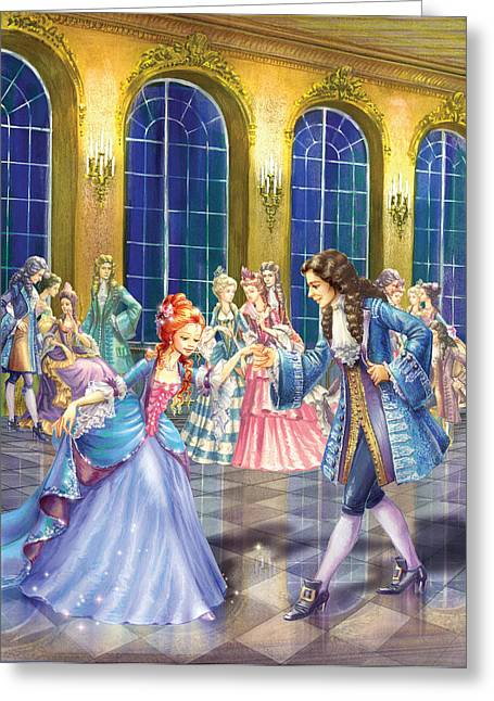 Indoor Photographs Greeting Cards - Shall We Dance Greeting Card by Zorina Baldescu