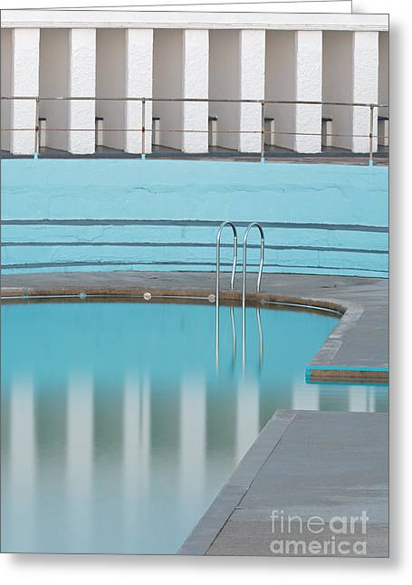 Tidal Photographs Greeting Cards - Shallow End Greeting Card by Richard Thomas