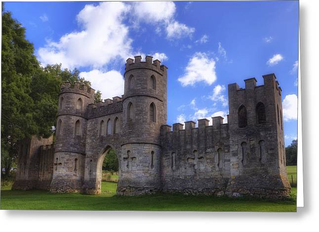 Somerset Greeting Cards - Sham Castle Greeting Card by Joana Kruse