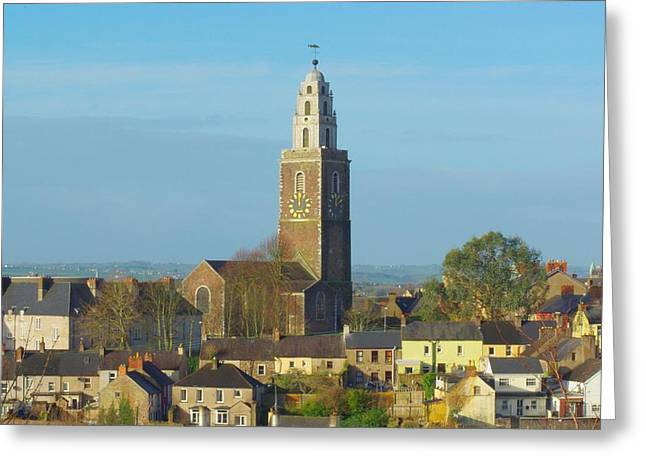 Bells Of Ireland Greeting Cards - St Annes Tower Shandon Tower Cork city Greeting Card by Patrick Dinneen