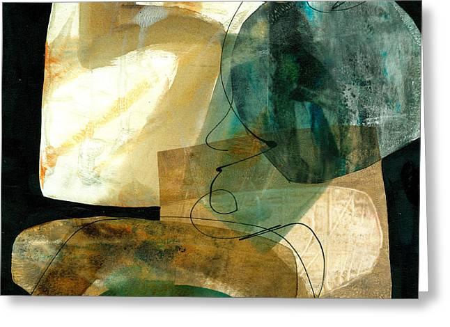 Jane Greeting Cards - Shape 4 Greeting Card by Jane Davies