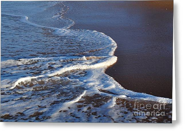 Recently Sold -  - Ocean Photography Greeting Cards - Shapely Seashore Greeting Card by Kaye Menner