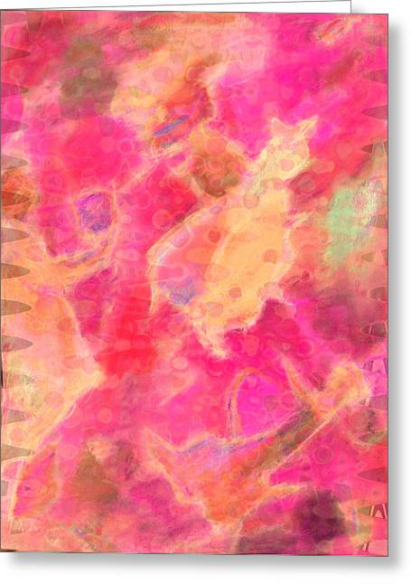 Flying Animal Pastels Greeting Cards - Shapeshifters Greeting Card by  Tolere