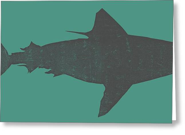 Sharks Digital Art Greeting Cards - Shark ll Greeting Card by Michelle Calkins