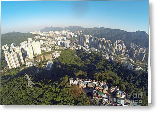 Shatin Greeting Cards - Shatin Greeting Card by Gus Scott