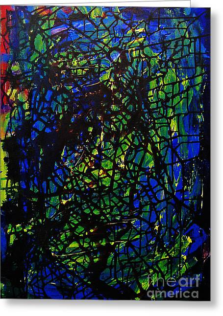 Drip Greeting Cards - Shattered Greeting Card by Jeff Barrett