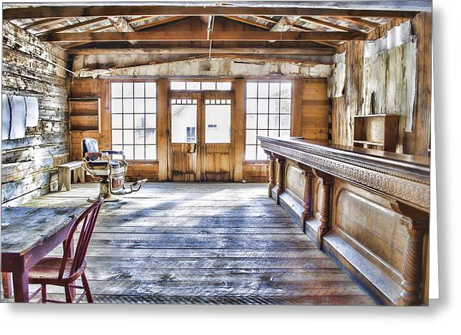 Daysray Photography Greeting Cards - Shave and a Beer Greeting Card by Fran Riley