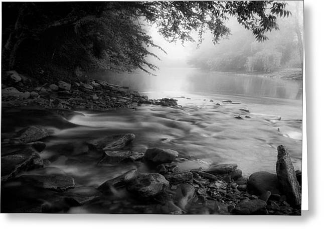 West Fork Greeting Cards - Shavers Fork - West Virginia Greeting Card by Mountain Dreams