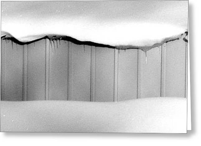 Shed Greeting Card by Mike McCool
