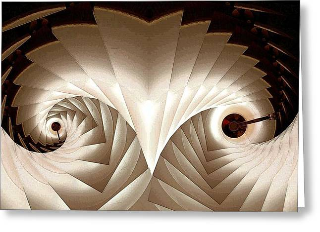 Shed Digital Art Greeting Cards - Shedding Greeting Card by Ron Bissett
