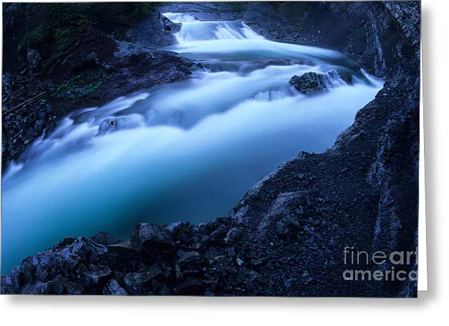 Alberta Foothills Landscape Greeting Cards - Sheep River Magic Greeting Card by Bob Christopher