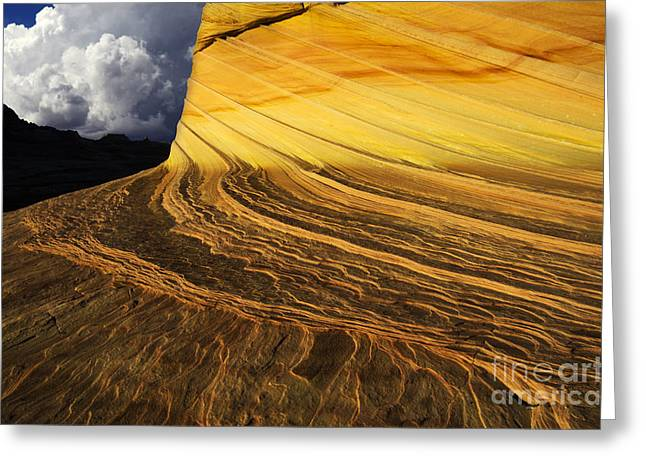 Greeting Cards - Sheer Magic North Coyote Buttes Arizona Greeting Card by Bob Christopher