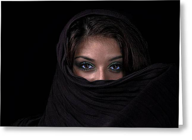 Mystic Photographs Greeting Cards - Sheherazade Greeting Card by Joachim G Pinkawa