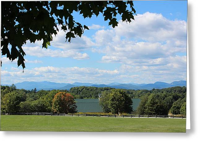 Charlotte Vermont Greeting Cards - Shelburne Vermont Greeting Card by William Alexander