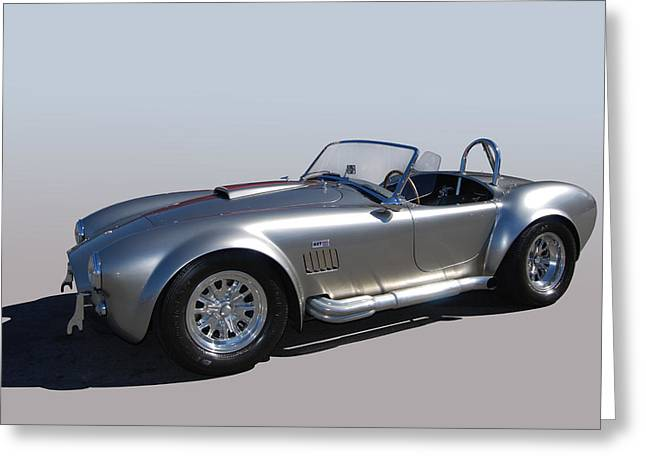 Cruisin For A Cure Greeting Cards - Shelby Bullet Greeting Card by Bill Dutting