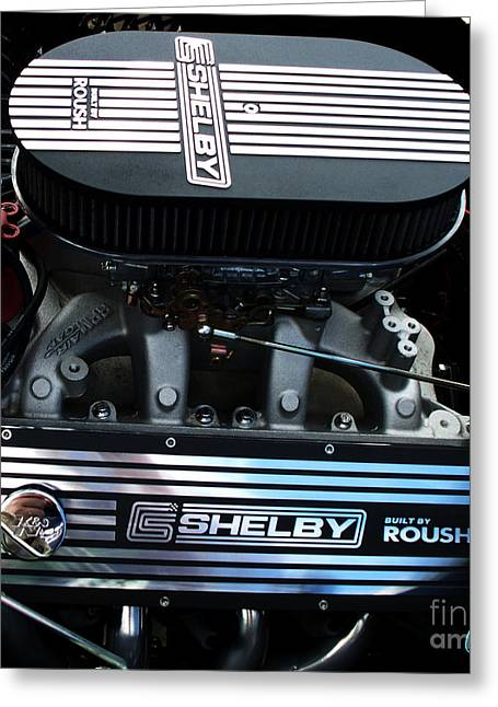 Carol Shelby Greeting Cards - Shelby by Roush Greeting Card by Chris Thomas