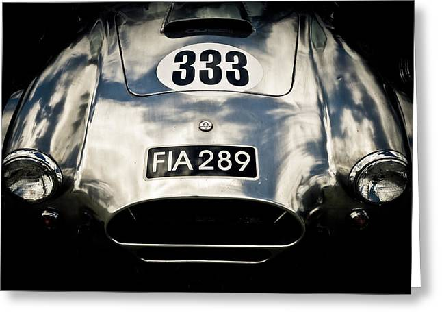 Motography Photographs Greeting Cards - Shelby Cobra Greeting Card by Phil