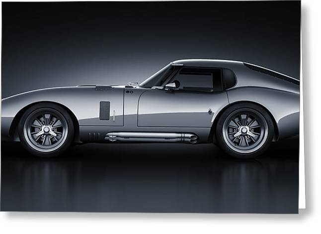 Stylish Car Greeting Cards - Shelby Daytona - Bullet Greeting Card by Marc Orphanos