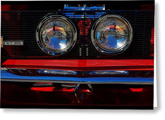 Carol Shelby Greeting Cards - Shelby GT 500 Mustang 2 Greeting Card by Tommy Anderson