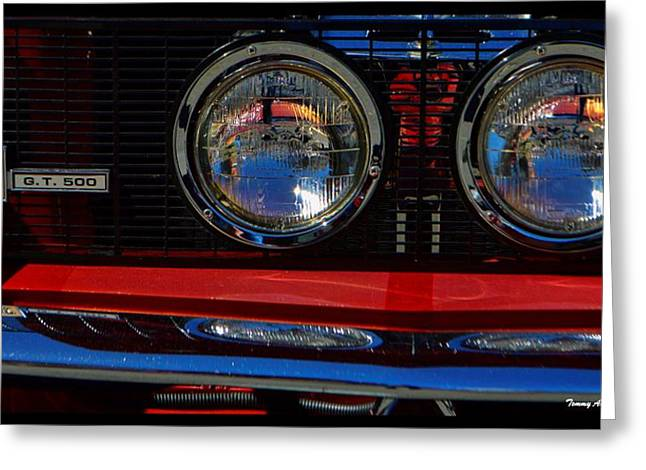 Carol Shelby Greeting Cards - Shelby GT 500 Mustang 3 Greeting Card by Tommy Anderson