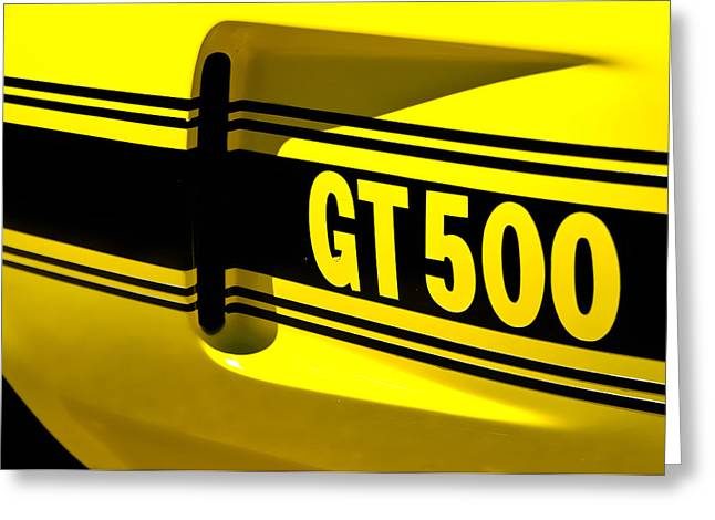 Shelby GT500 Greeting Card by Phil 'motography' Clark