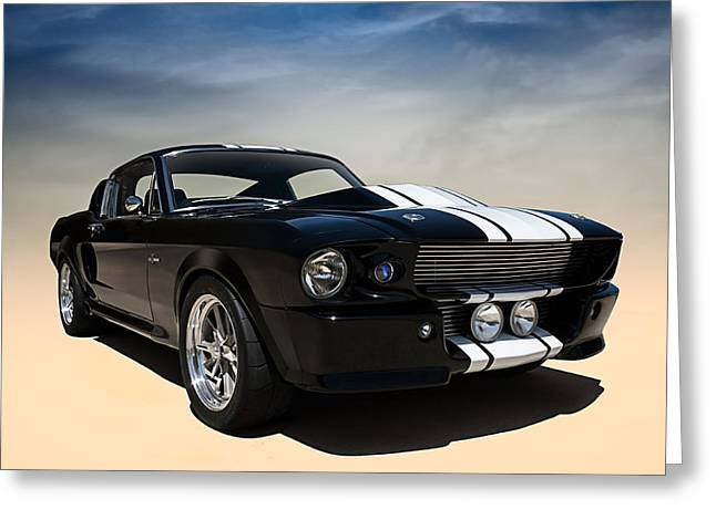 Shelby Greeting Cards - Shelby Super Snake Greeting Card by Douglas Pittman