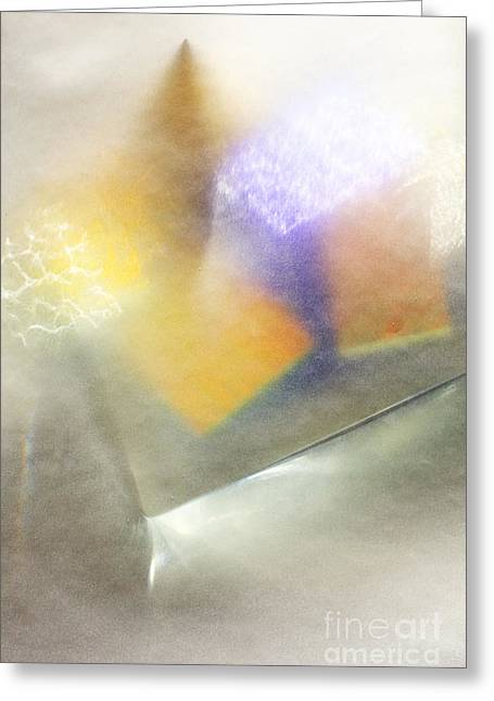 Shell Collection Digital Art Greeting Cards - Shell and Murano glass  Greeting Card by Joanna Jarzabek