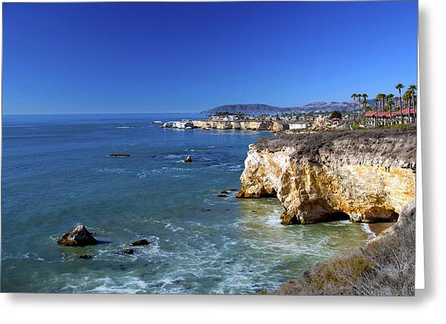 Shell Beach California Greeting Card by Barbara Snyder
