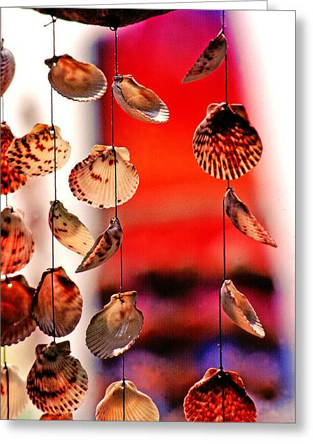 Shell Mobile Greeting Card by Mike Flynn