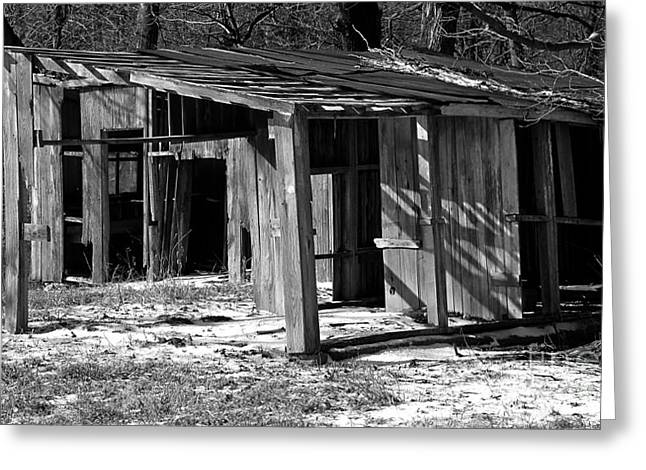 Rural Indiana Greeting Cards - Shelter Greeting Card by Charlie Spear